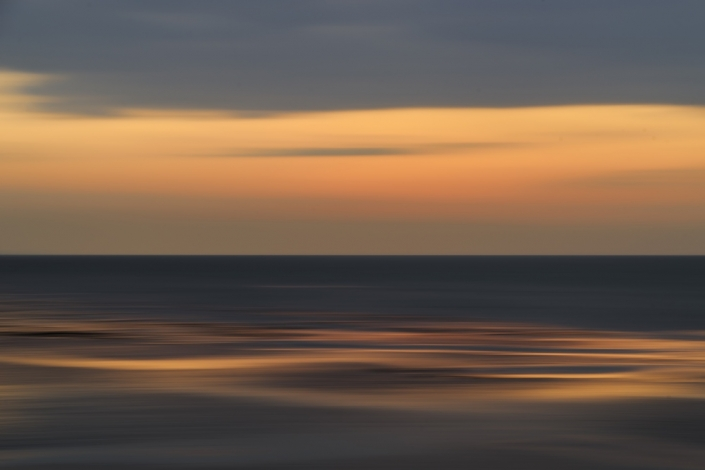 Colors of sunset. Abstract.